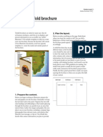 Create a Trifold Brochure