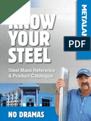 Know Your Steel Book | Kilogram | Sheet Metal