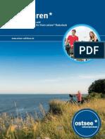 Broschüre radfahren* an der Ostsee