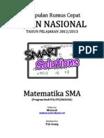 Kumpulan SMART SOLUTION Mathematics by Mubarak Spentwo(1)