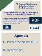 Armando Villacorta Nuevas Normas Del IIA Version 2.0 (Uruguay)