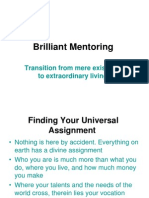 Brilliant Mentoring (by Shady)