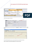 Adding Custom Tab to the Transaction VF01
