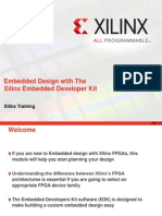 Embedded Design With the Xilinx Embedded Developer Kit