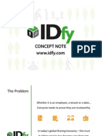 Online identity and trust - The IDfy Concept