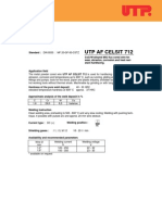 AF CELSIT 712 FCAW Material de Adaos Sudura