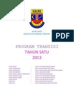 Buku Program Transisi