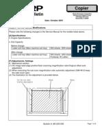 Modificacion Service Manual