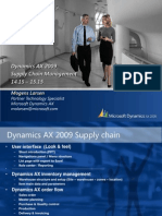Demo Supply Chain for AX