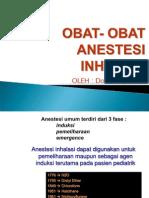 Obat-Obat Anestesi Inhalasi