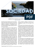 Antropologia de Las Adicciones