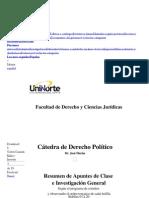 Resumen de Derecho Politico