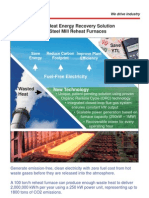 Waste Heat Recovery Flyer Turkish A4