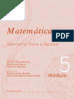 Matemática - Módulo 5 - Geometria Plana e Espacial