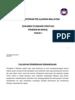 DSP P Moral Tahun 1 Penambahbaikan - Jan 2013