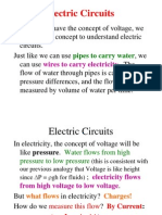 Good Electricity and Water Analogy