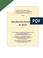 Intro Historique Au Droit