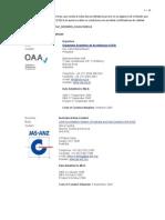 Acreditadoras ISO