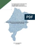MA - Relatório Municipal nº20 - São Luís - Frederico Lago Burnett e Edelcy Ferreira - Jun 2009