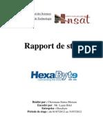 Rapport de Stage Hexabyte