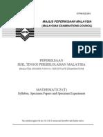 954 SP Math(T)