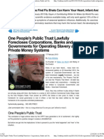 One People's Public Trust Lawfully Forecloses Corporations, Banks and Governments for Operating Slavery and Private Money Systems _ Wake Up World