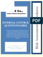 Internal Control Questionnaire (ICQs)