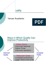Intro Quality - TQM