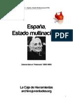 Espana, Estado Multinacional