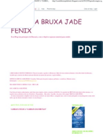 "CASA DA BRUXA JADE FÊNIX_ GARRAFA MÁGICA ""GARRAFA DAS BRUXAS"""