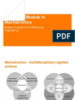 Advanced Module in Mechatronics Intro