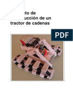 Proyecto de construcción de un tractor de cadenas