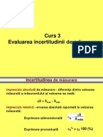 03 - Evaluarea impreciziei de masurare.ppt