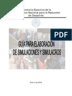 Guc3ada Para Elaboracic3b3n de Simulaciones y Simulacros