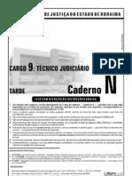Cespe 2006 Tj Rr Tecnico Judiciario Area Administrativa Prova