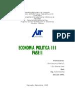 Trabajo de Economia Politica III-fase II