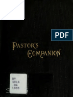 Pastor's Companion for Weddings and Funerals- Robert Gillin Seymour-Pub 1898