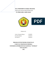 Proposal Kerja Praktek Pertamina UBEP Limau