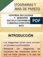 Presentacion Histograma y Pareto 80 20