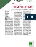 Il Teatro Sulla Funicolare, il progetto di Pier Luigi Nervi per il Teatro Augusteo illustrato dal vivo
