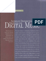 Alternate Distribution Strategies for Digital Music