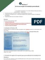 Windows 7- Preparando Instalação com o Sysprep