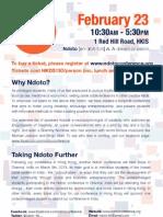 Ndoto Conference Leaflet