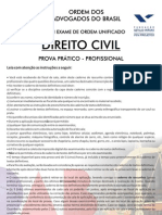 VIII Exame Civil - Segunda Fase