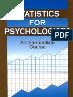 Statistics and Psychology