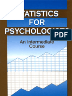 Statistics and Psychology