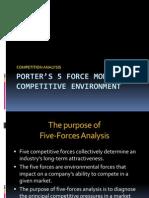 5 - PORTER'S 5 FORCE MODEL