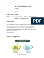 Des-3326 Layer 3 Configuration Guide
