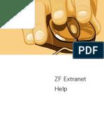 Hilfe ZF Extranet En