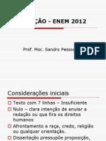 Aulão - Enem 2012 - Redação